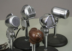 Photo of microphones by John Schneider