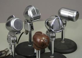Photo of microphones by John Schneider